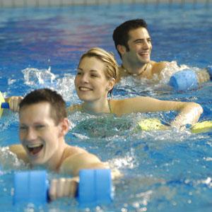 Aquatic-Fitness-geschlossener Kurs